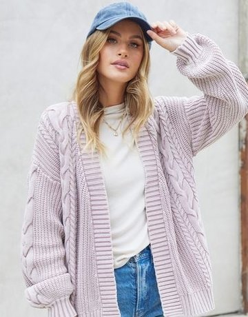 Lovestitch Boyfriend Cardigan