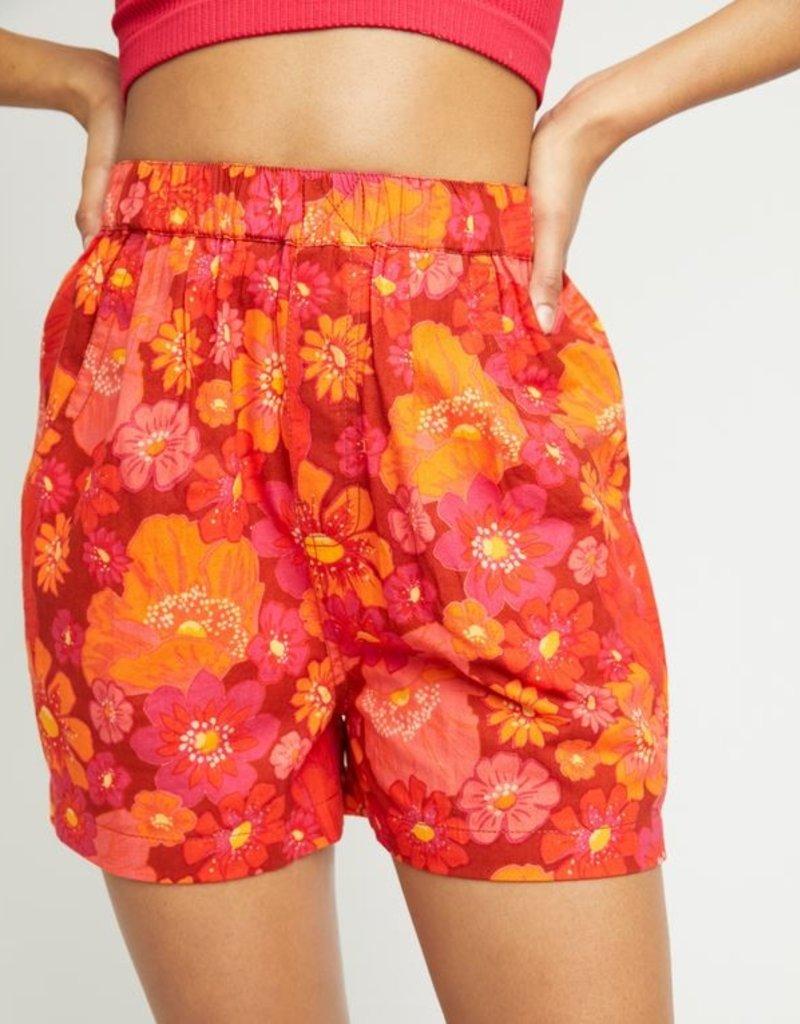 Free People Free People Palo Duro Flower Shorts