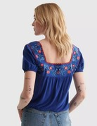 Lucky Brand Clothing Lucky Brand Anglaise Top