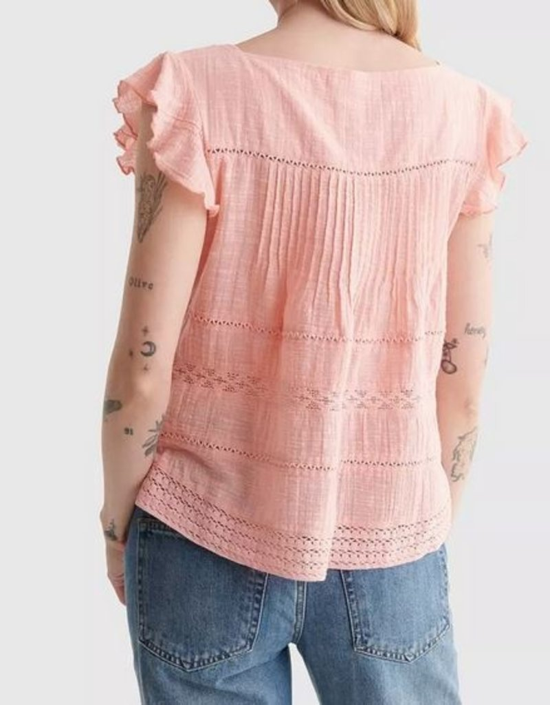 Lucky Brand Clothing Lucky Brand Eyelet Top
