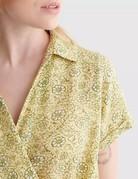 Lucky Brand Clothing LuckyB S/S Surplice Buttondown