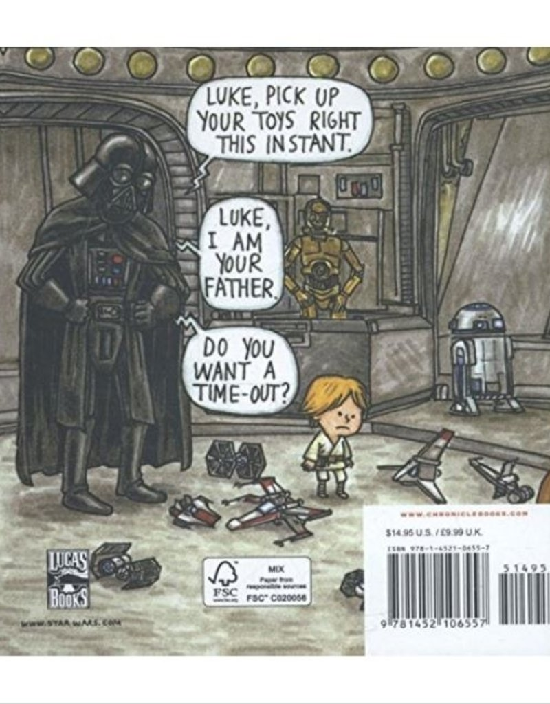 Chronicle Books Darth Vader and Son book