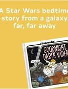 Chronicle Books Goodnight Darth Vader book