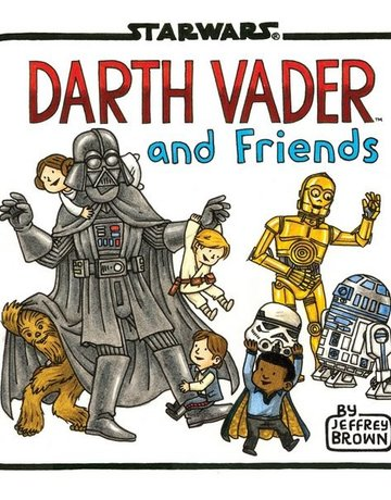 Chronicle Books Darth Vader and Friends book