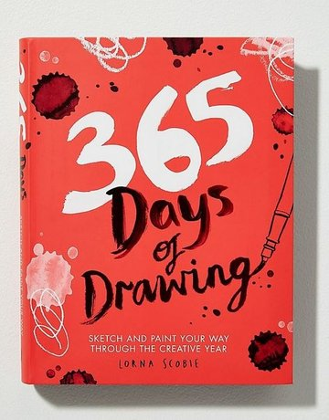 Chronicle Books 365 Days of Drawing Book