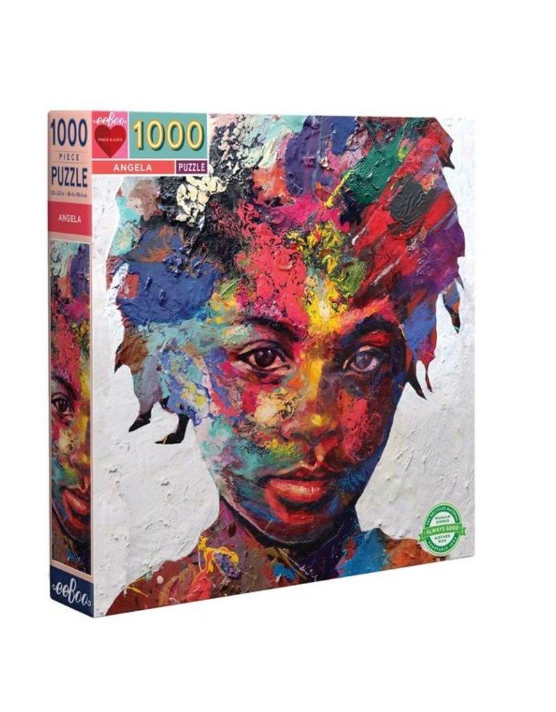 eeBoo Publishing Angela's Watercolor Puzzle
