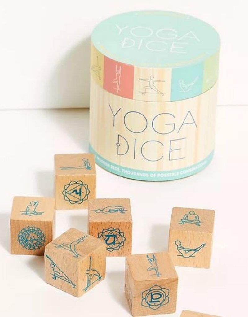 Chronicle Books Yoga Dice