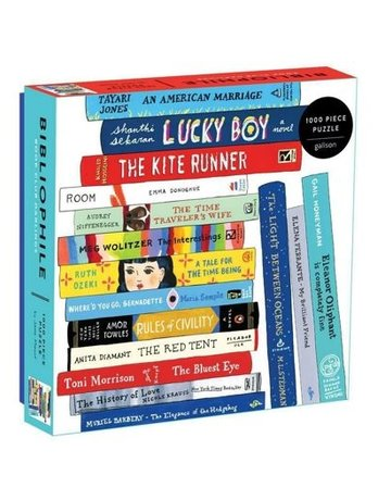 Chronicle Books Puzzle -Bibliophile Book Club (1000 Piece)