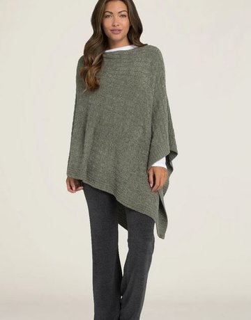 Barefoot Dreams Cable Poncho
