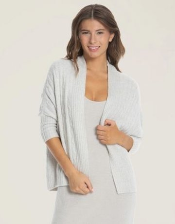 Barefoot Dreams Cable Shrug