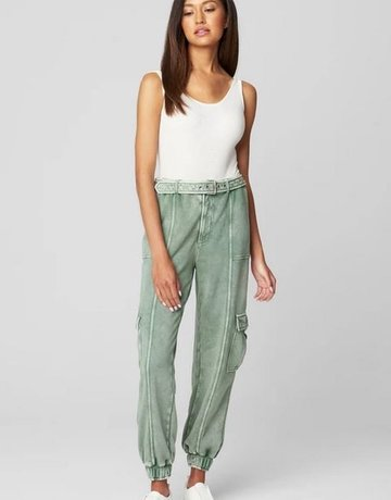 BlankNYC Full Circle Belted Jogger Pant
