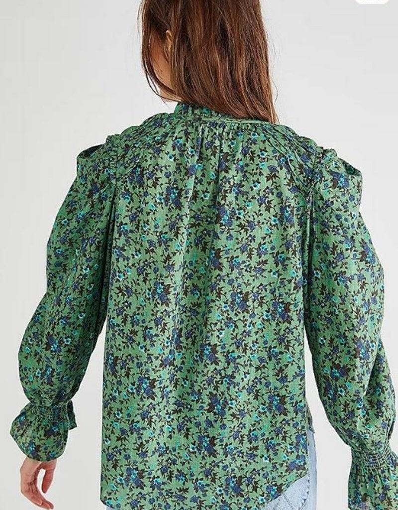 Free People Free People Meant To Be Ruffle Top -