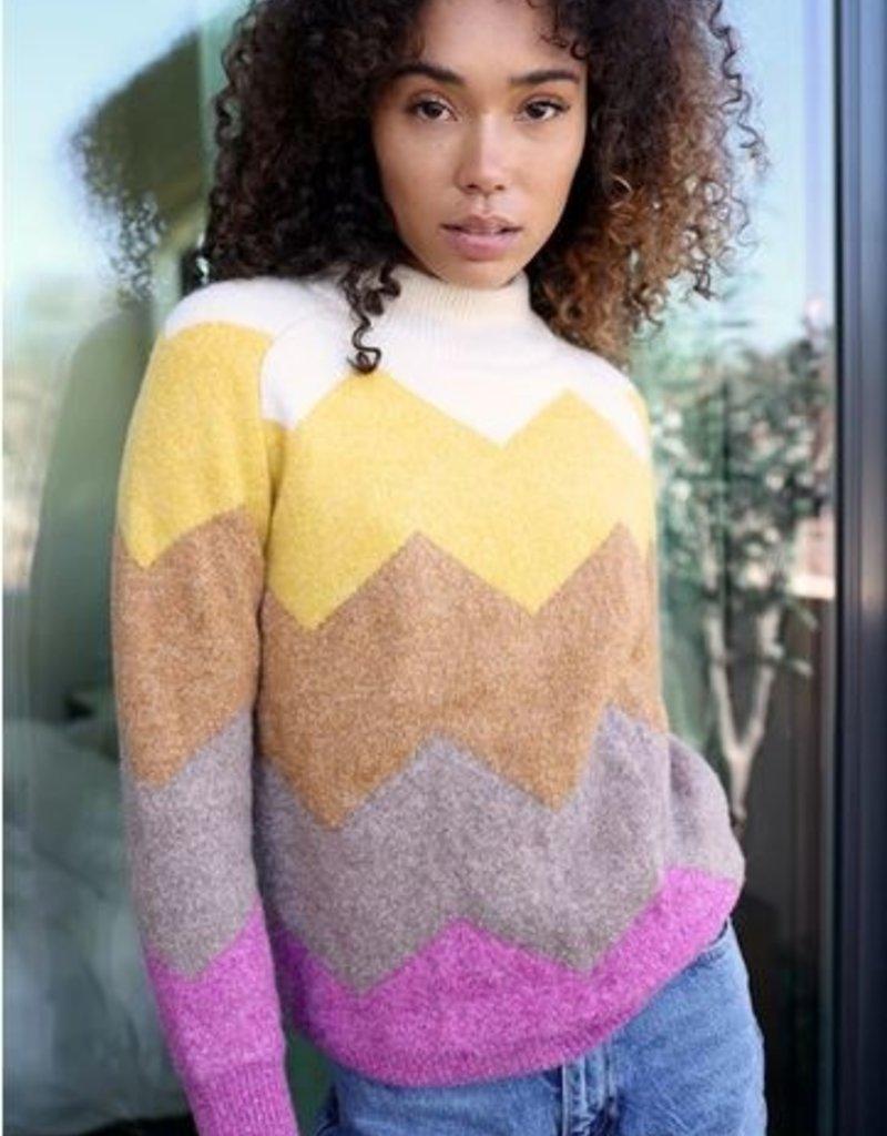 Greylin Greylin Charlie Zig Zag Sweater