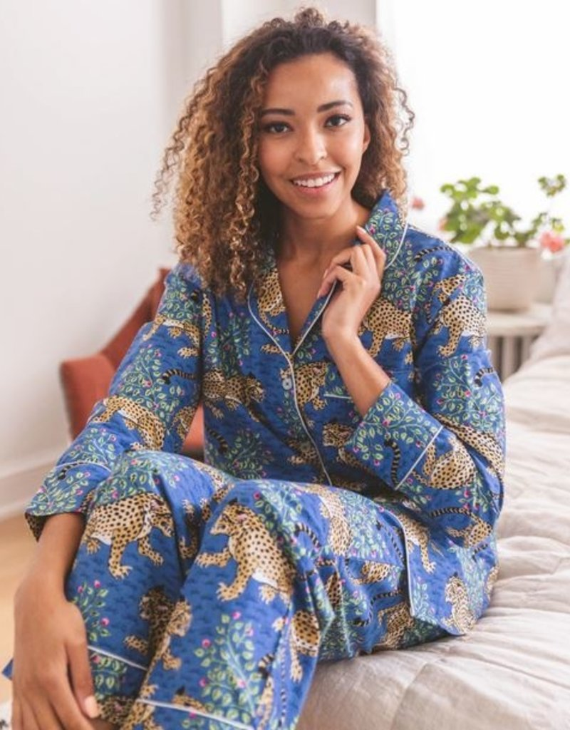 PrintFresh PrintFresh Bagheera Long Pajama Set
