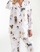 Pine Cone Hill Pine Cone Hill Woof Long Pajama Set