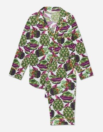 PrintFresh Eat Your Asparagus Long Pajama Set