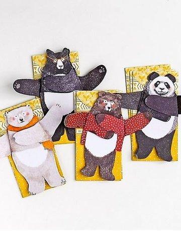 Chronicle Books Bear Hugs Notecards