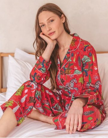 PrintFresh Antelope Long Pajama Set