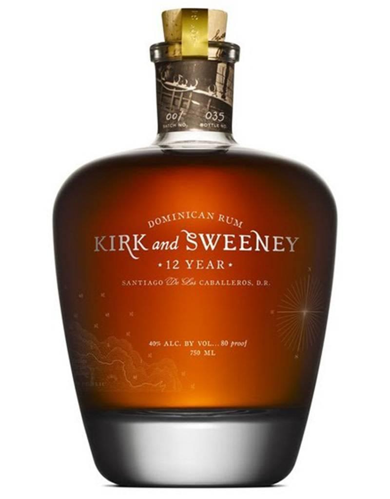 Kirk & Sweeney 12 Year Rum, Dominican Republic