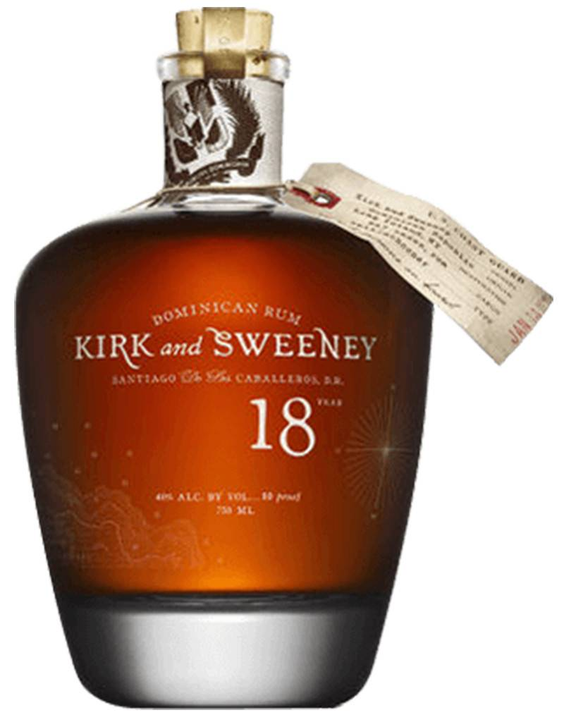 Kirk & Sweeney 18 Year Rum, Dominican Republic