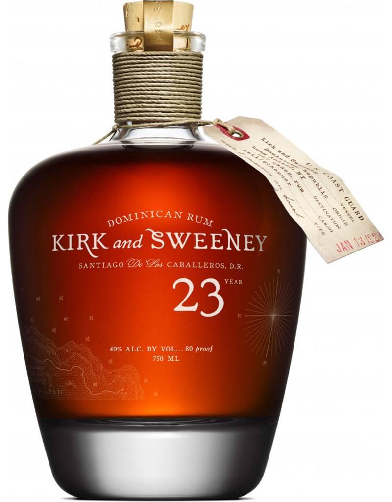 Kirk & Sweeney 23 Year Rum, Dominican Republic