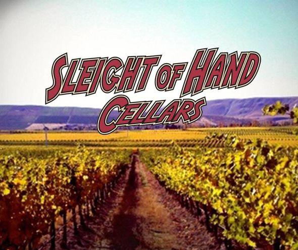 TUESDAY 13 NOV 2018 | Sleight of Hand Cellars Winery Tasting w.  Jerry Solomon