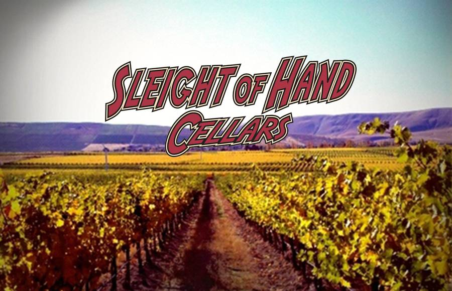 TUESDAY 13 NOV 2018 | Sleight of Hand Cellars Winery Tasting w.  Jerry Solomon