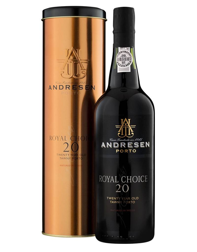J.H. Andresen 20 Years Royal Choice Port