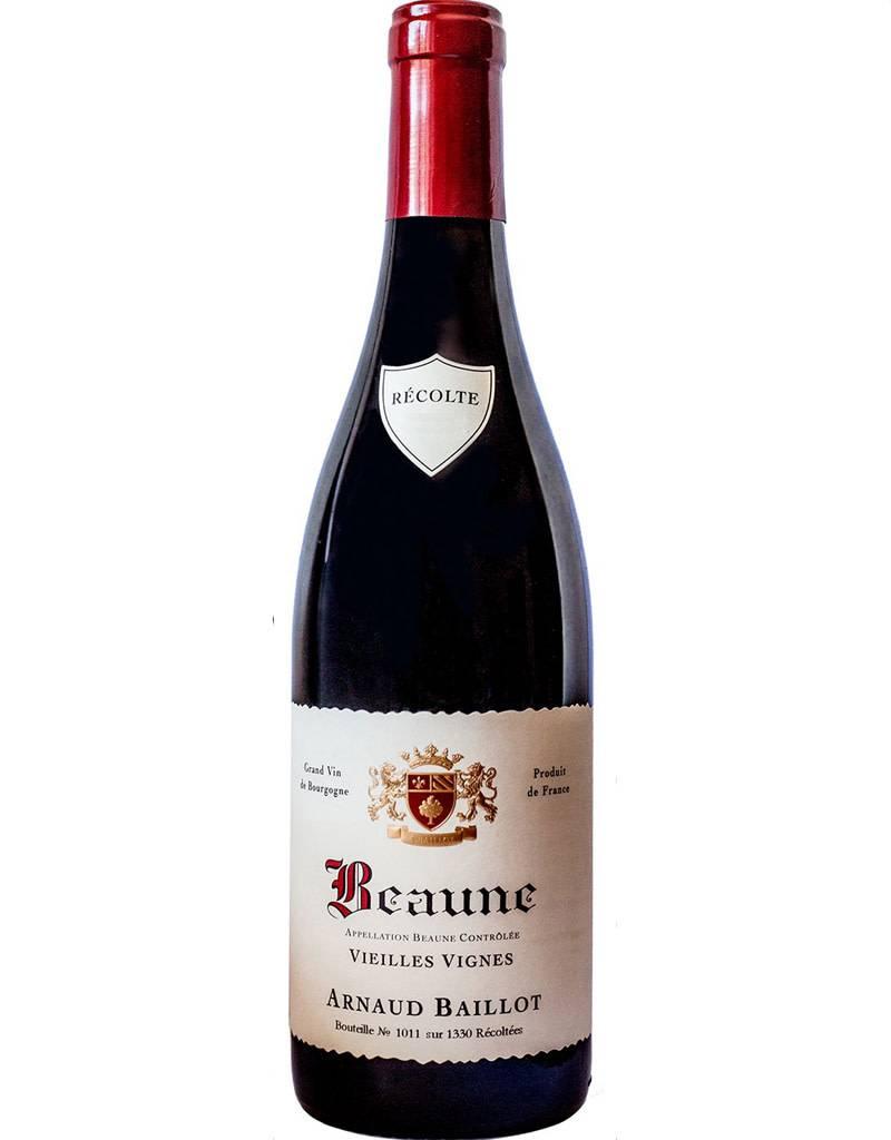 Arnaud Baillot Arnaud Baillot 2018 Beaune, Montrevenots, Vieilles Vignes Burgundy, France