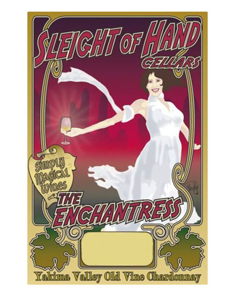 Sleight of Hand Cellars 2015 'Enchantress Chardonnay, Columbia Valley, Washington