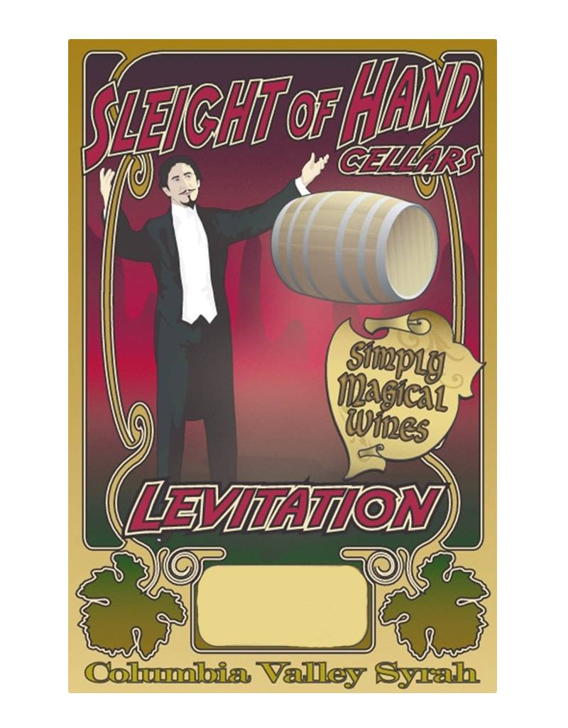 Sleight of Hand Cellars 2013 'Levitation' Syrah ,Columbia Valley, USA 1.5L Magnum