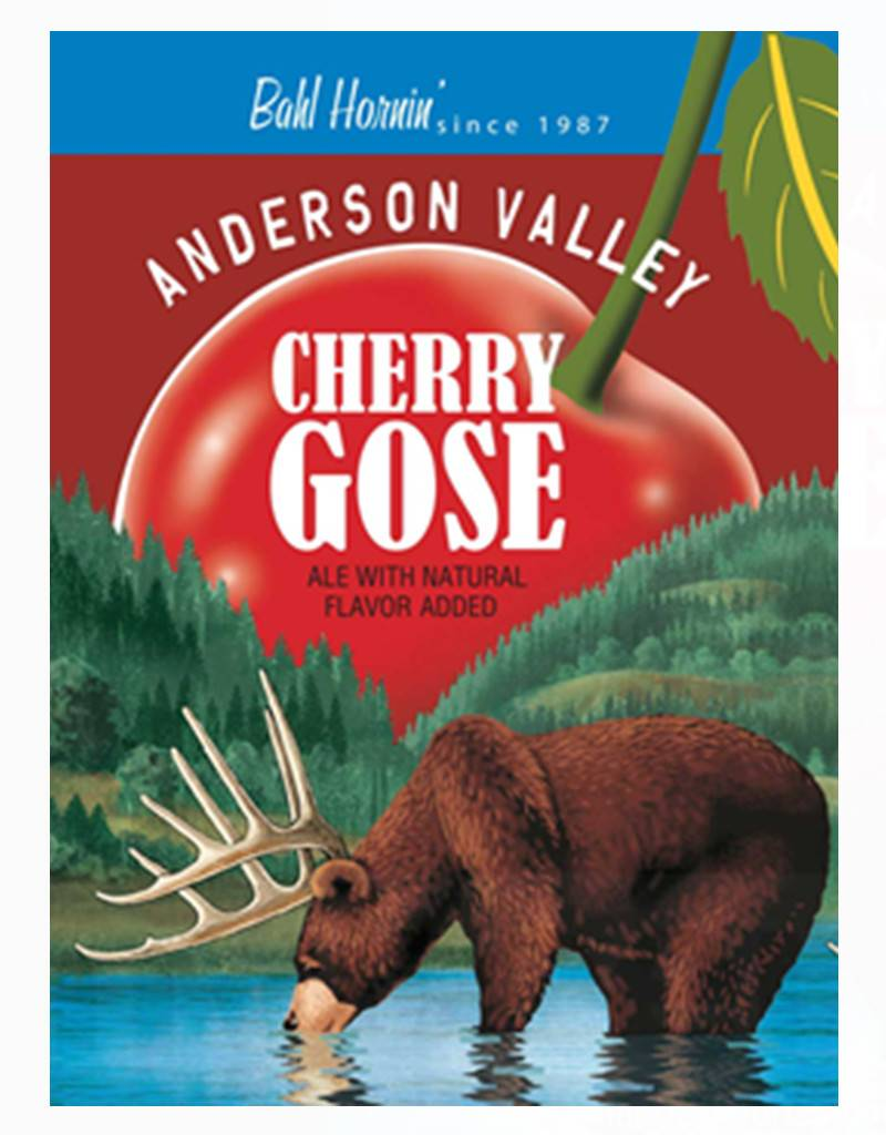 Anderson Valley Cherry Gose, 6pk Cans