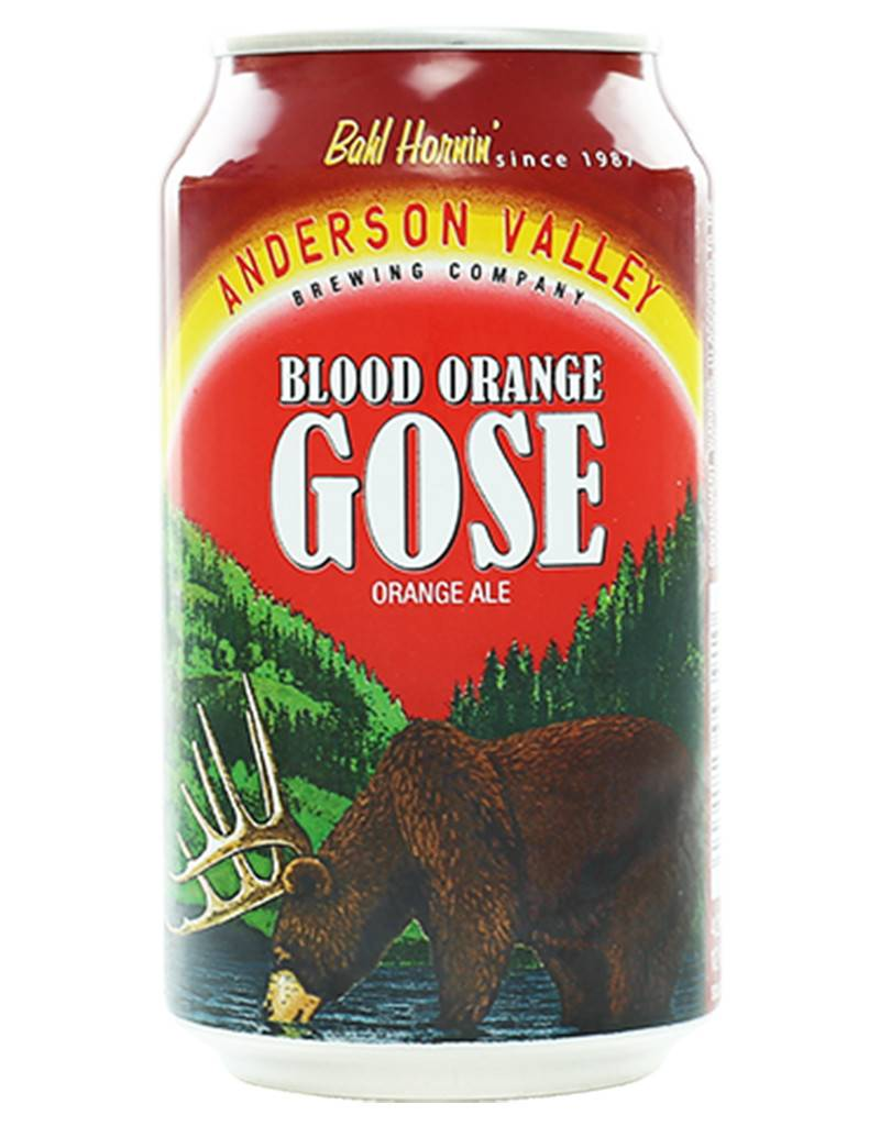 Anderson Valley Blood Orange Gose, 6pk Cans
