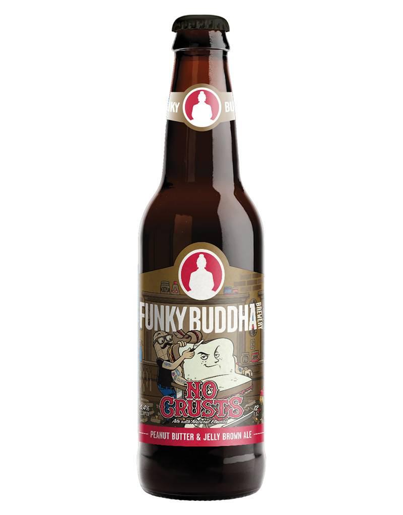 Funky Buddha Brewery Funky Buddha Brewery 'No Crust', Brown Ale, 4pk Btls