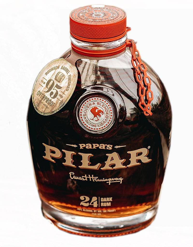 Papa's Pilar Dark Rum Bourbon Barrel Aged