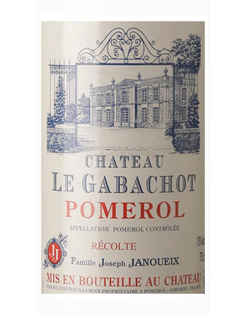 Chateau Le Gabachot by Famille Joseph Janoueix 2009 Pomerol, Bordeaux, France