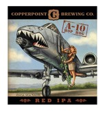 Copperpoint Brewing Co. A-10 Hop Hog Red IPA, Florida 6pk Cans