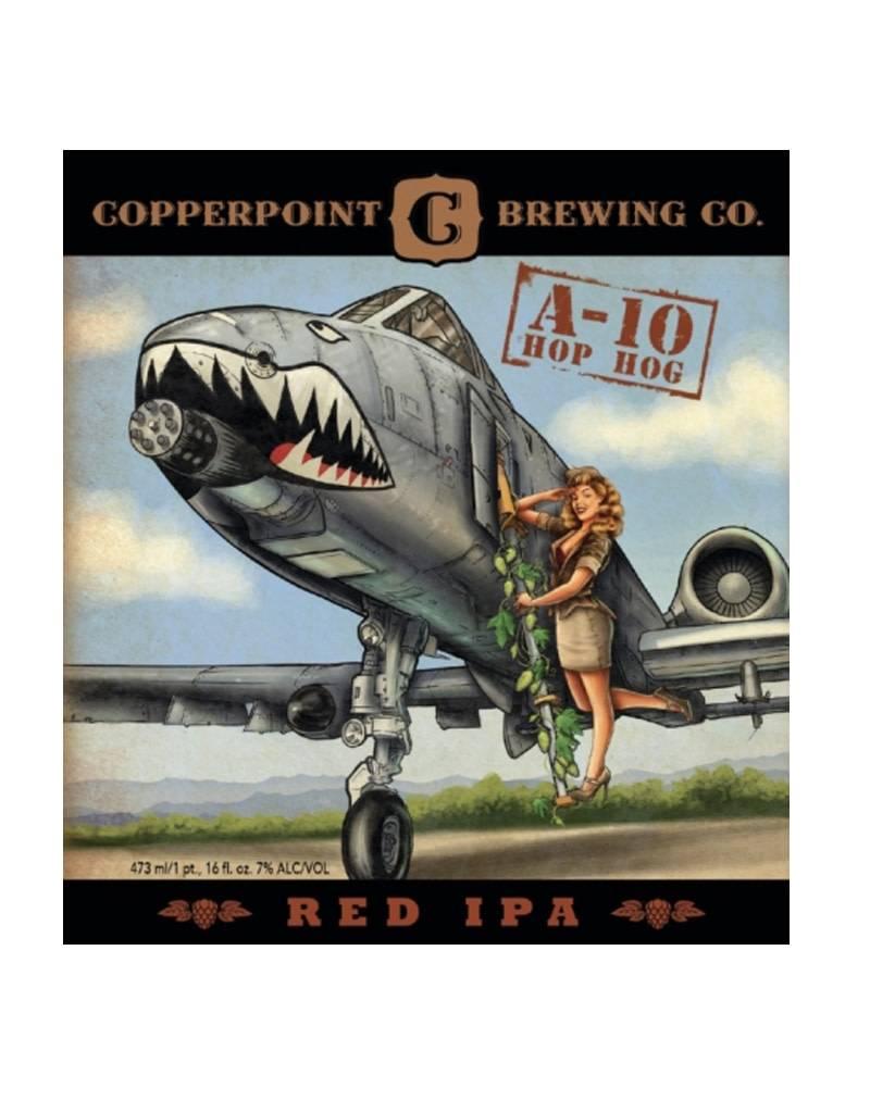 Copperpoint Brewing Co. A-10 Hop Hog Red IPA 6pk Cans, Boynton Beach, Florida