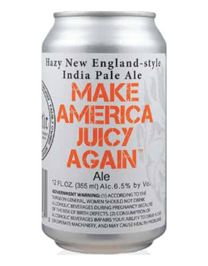 Heretic Brewery Co. Make America Juicy Again, New England Style Hazy IPA, California 6pk Cans
