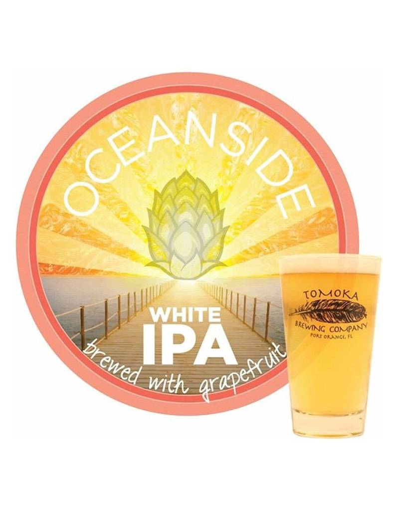 Tomoka Brewing Co. Oceanside Grapefruit White IPA, Florida, 6pk Cans