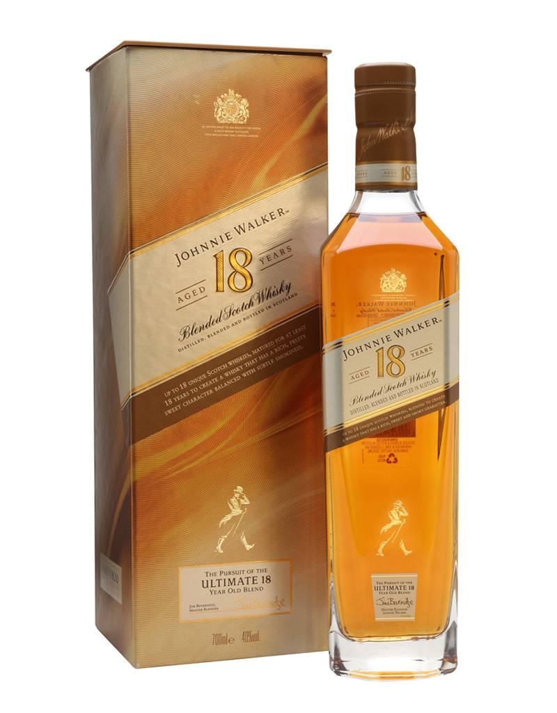 Johnnie Walker Platinum Label 18 Year Old Blended Scotch Whisky, Scotland