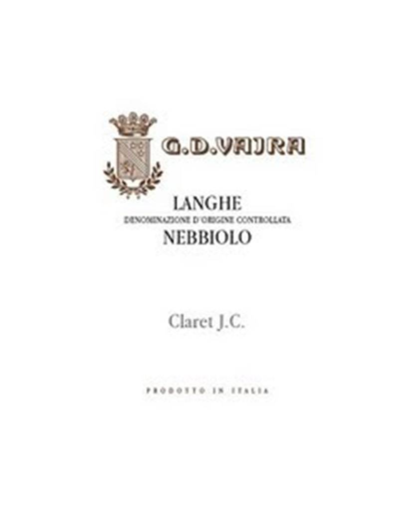 G.D. Vajra 2015 Claret J.C., Langhe Nebbiolo, DOC, Italy