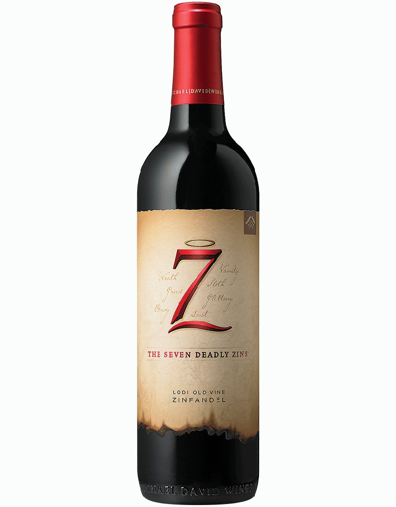 Michael David Winery 2016 'The Seven Deadly Zins' Zinfandel, Lodi, USA