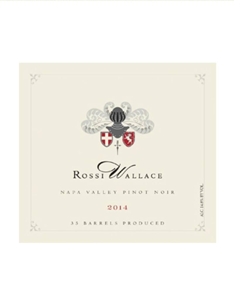 Rossi Wallace 2016 Pinot Noir, Atlas Peak, Napa Valley, California