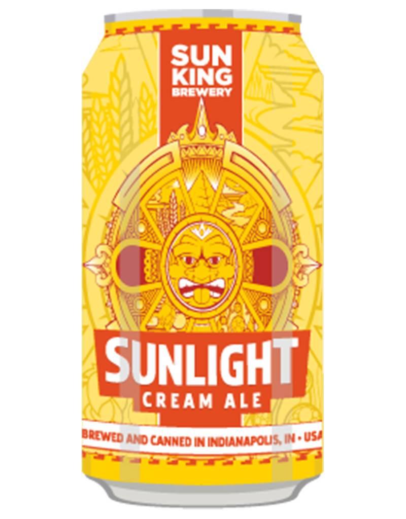 Sun King Brewery Sunlight Cream Ale, 6pk Cans