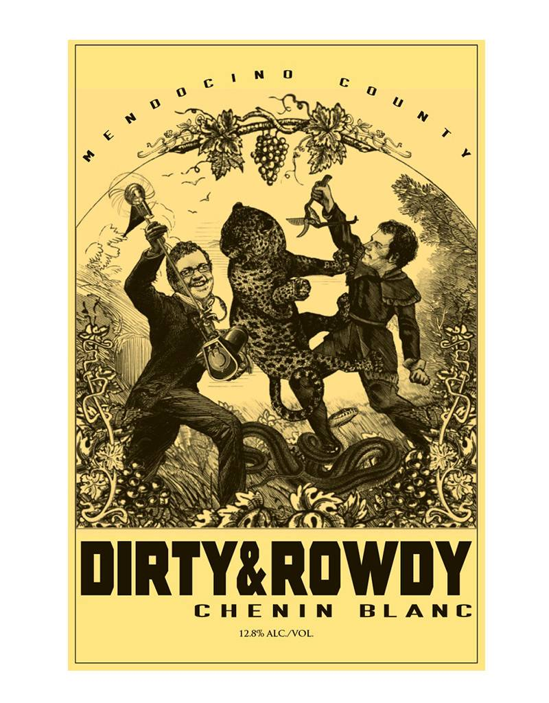 Dirty & Rowdy Family Wines 2017 Chenin Blanc, Mendocino County