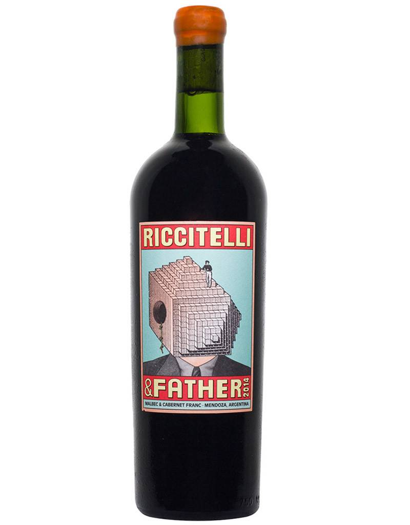 Matías Riccitelli & Father 2015, Red Blend, Lujan de Cuyo, Argentina