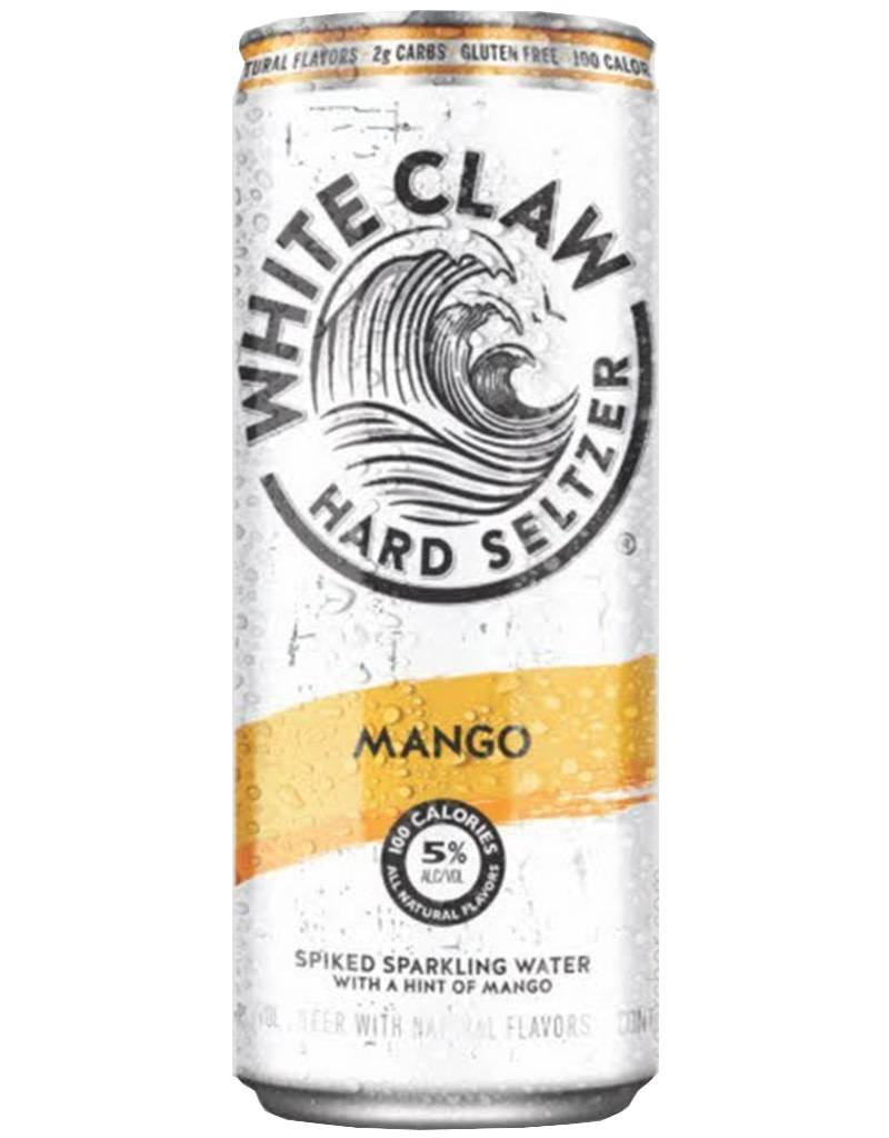 White Claw Spiked Hard Seltzer Mango 6pk Cans