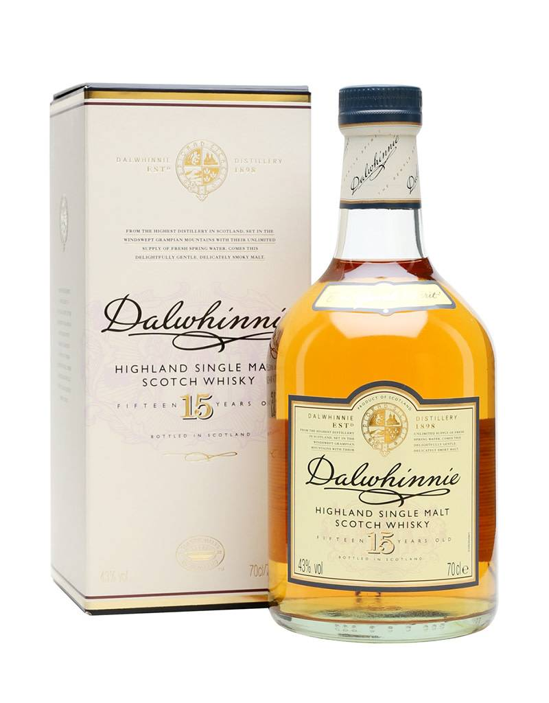 Dalwhinnie 15 Year Old Single Malt Scotch Whisky, Highlands, Scotland