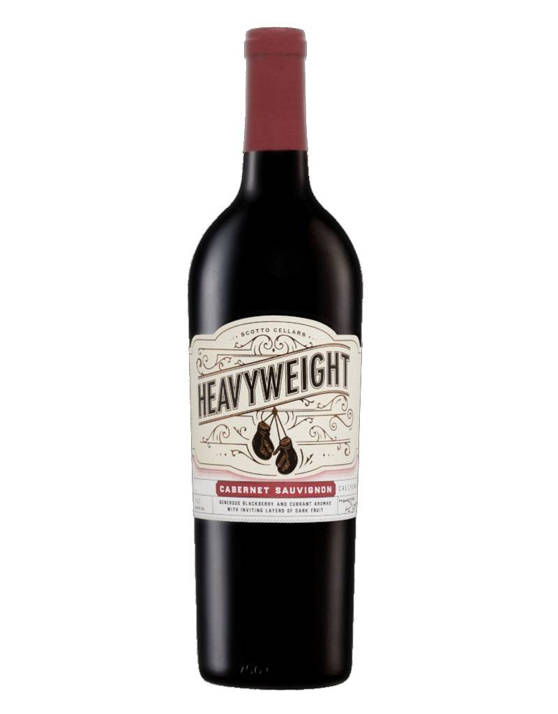 Heavyweight 2015 Red Cabernet Sauvignon, Lodi, California by Scotto Cellars